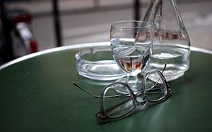 Matthew Hong - exoration cafe table